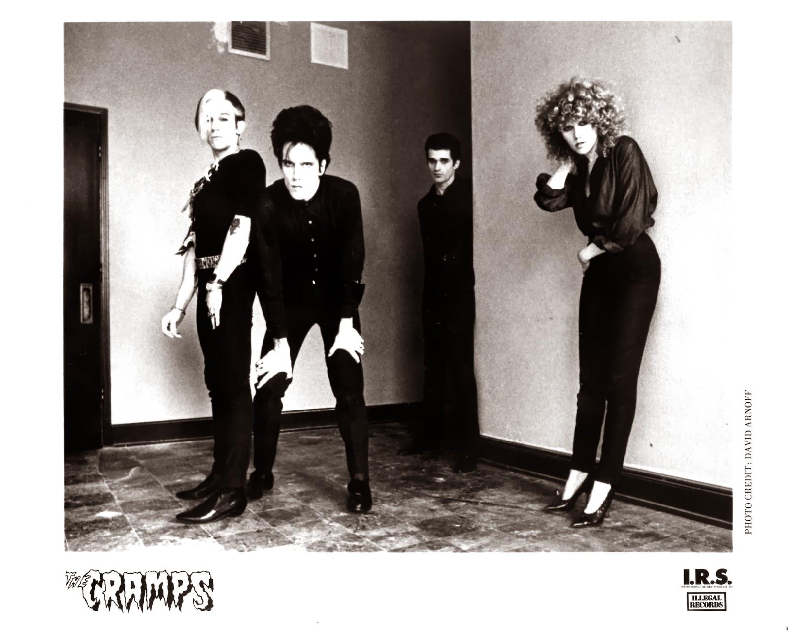 Lansure's Music Paraphernalia: THE CRAMPS | Press Kits ...