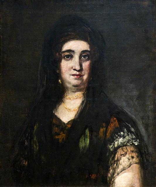 Retrato de dama con mantilla (Francisco de Goya)