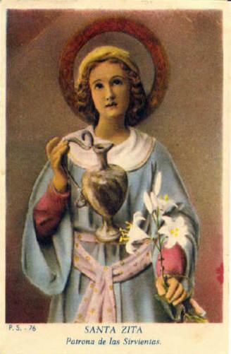 Santos Intactos e Incorruptos: Santa Zita
