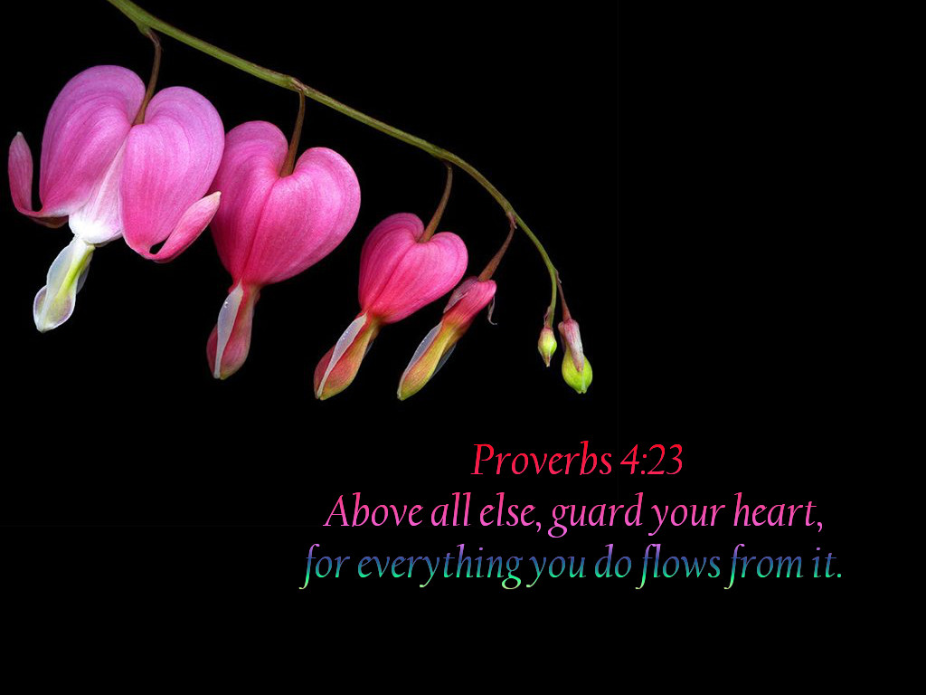 Christian Wallpapers: Bible Verse Wallpaper - Proverbs 4:23