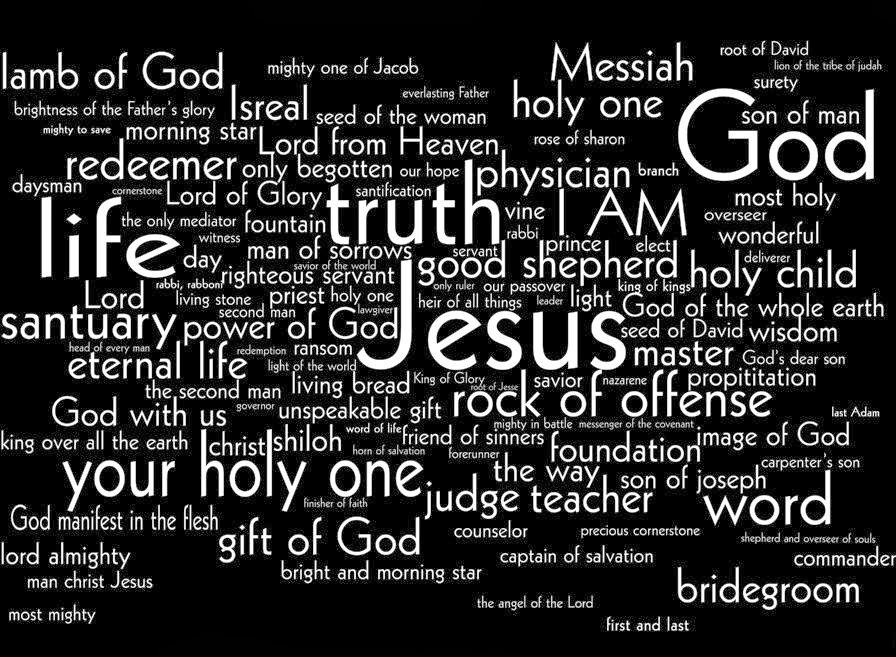 THE MANY NAMES OF CHRIST | Finding My Daily Bread