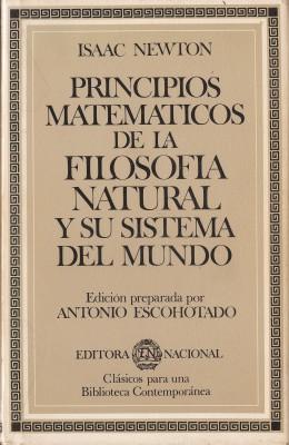 Librería La Teta Negra: PRINCIPIOS MATEMÁTICOS DE LA ...