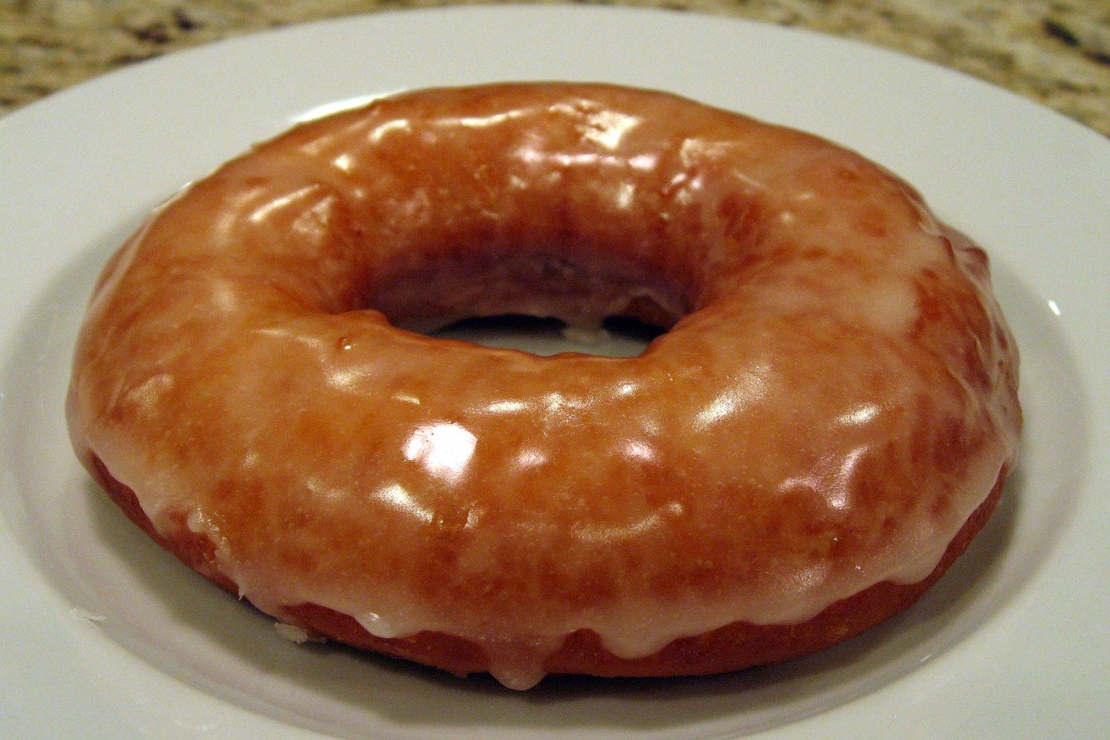 Dinner Delish: Top Pot Raised Glazed Ring Doughnuts
