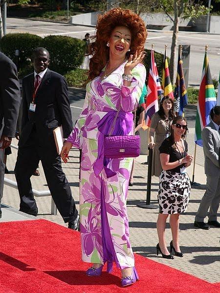 GLAMOUROUS101: Chantal Biya -Cameroonian 1st Lady!