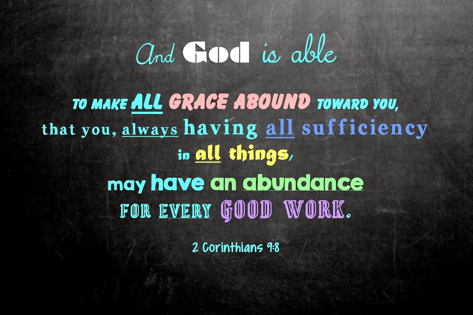 Susan's Blog: God Is Able