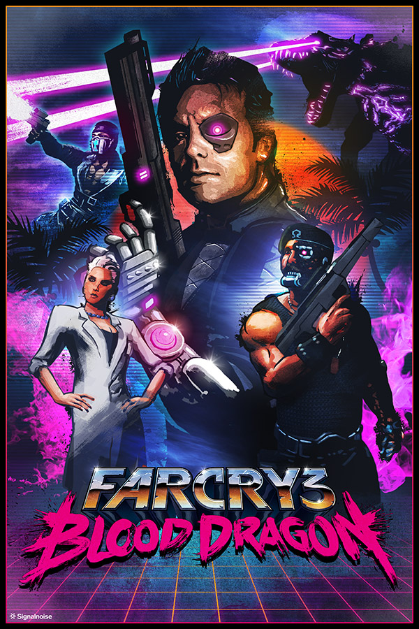 EXONAUTS!: Far Cry 3: Blood Dragon THE MOVIE