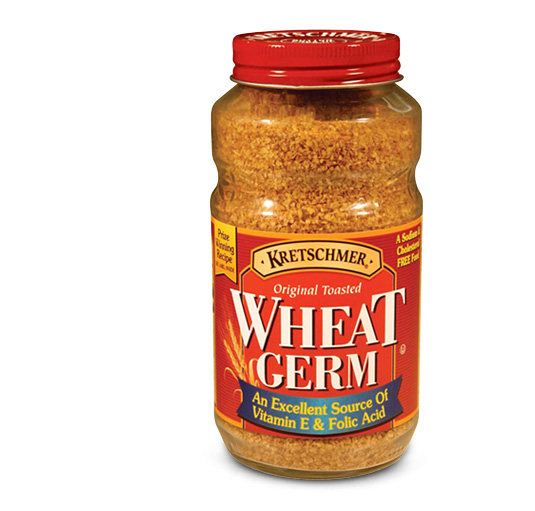 Wheat germ generally comes packed in jars, like this: