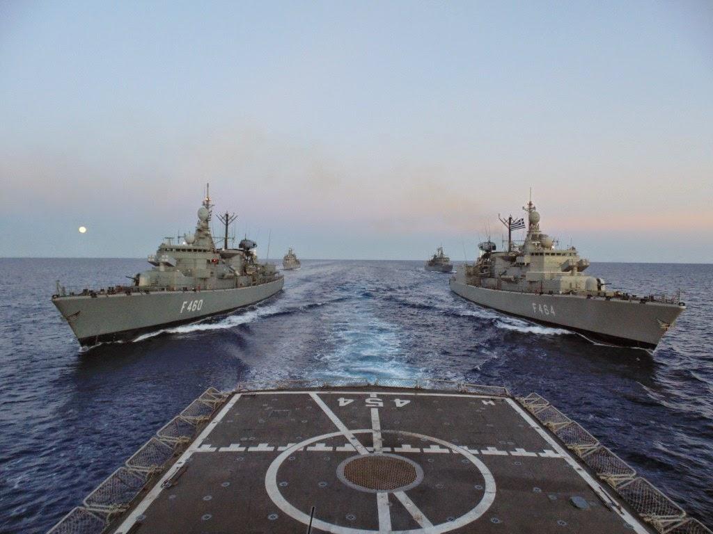 Greece seeking to outmaneuver Turkey in Mediterranean Sea…