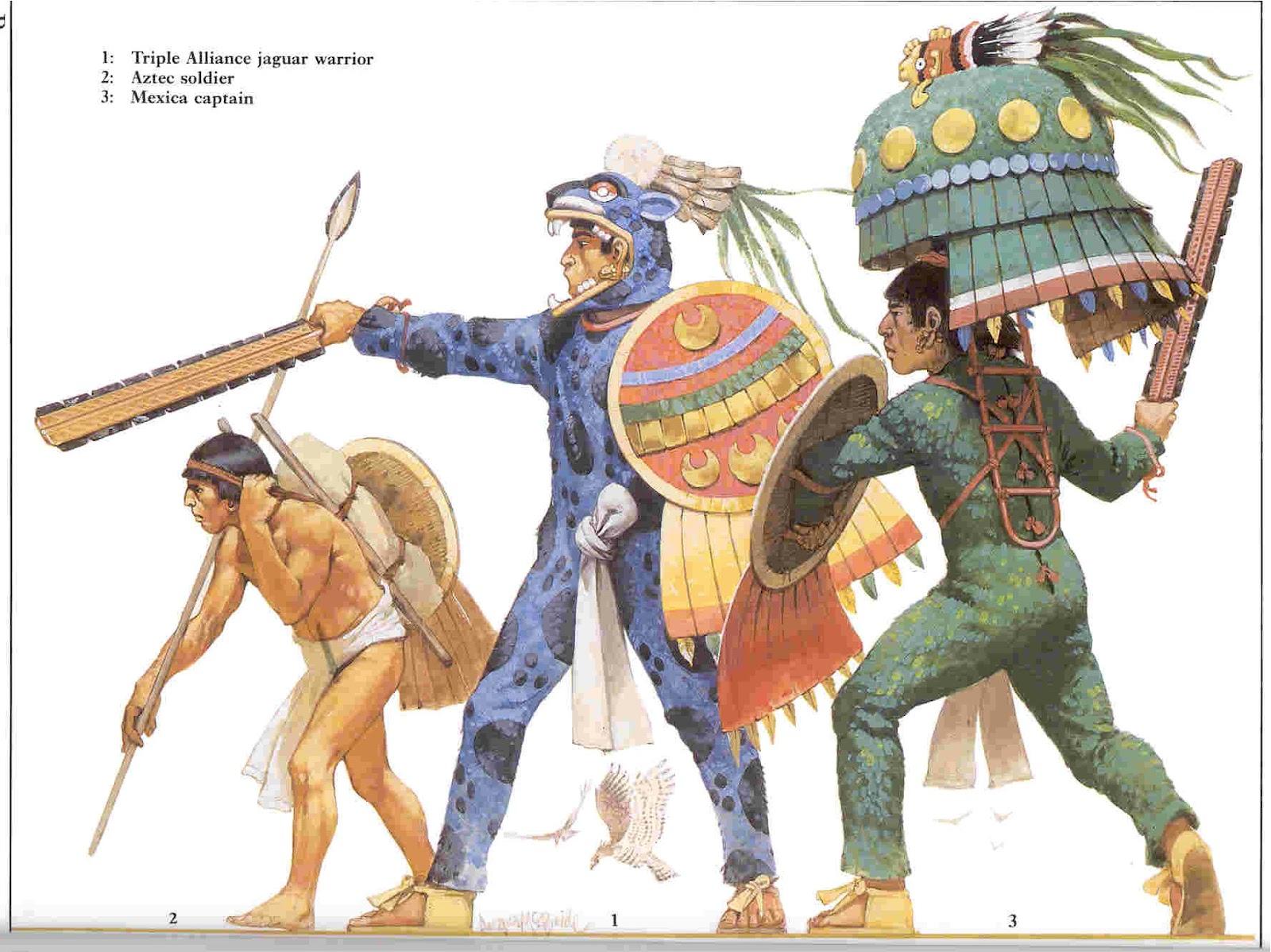 Argoth el Errante: GUERREROS MEXICA