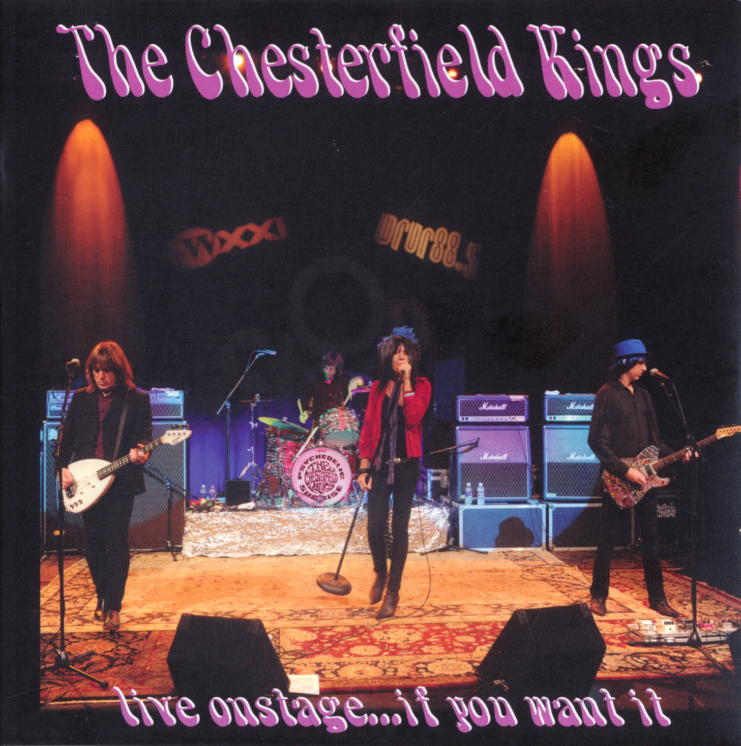 RATBOY69: The Chesterfield Kings - Live On Stage...If You Want It