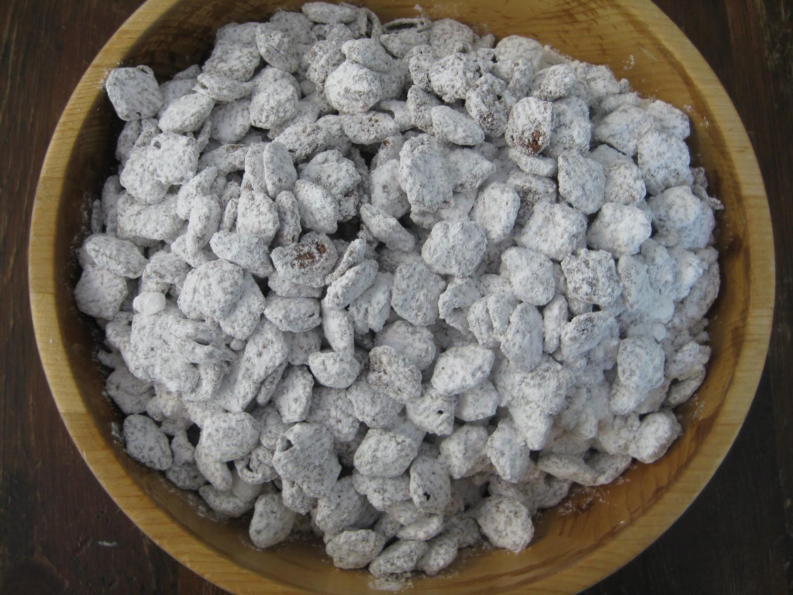 people puppy chow is one of my answers to the snack question that ...