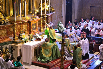 ... Photos Released from the Pontifical Solemn High Mass at St. Peter's