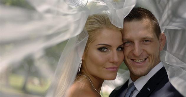Lukáš Krpálek with Wife Eva Kaderková