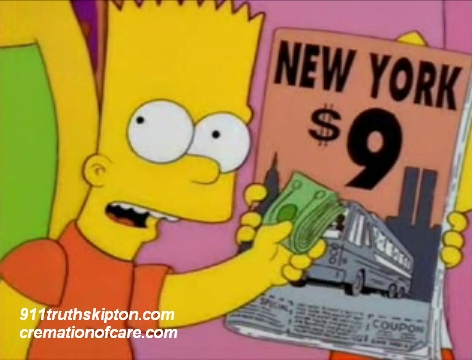 Episode Of The Simpsons warned of 911 6 months ahead in 2001