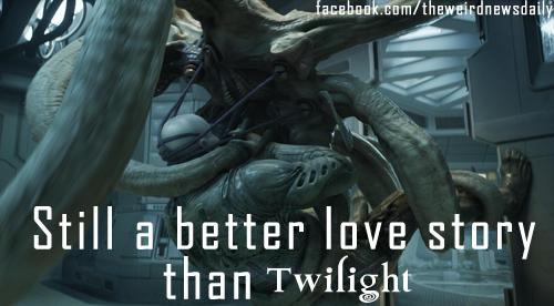 Still a better love story than Twilight (Prometheus edition)