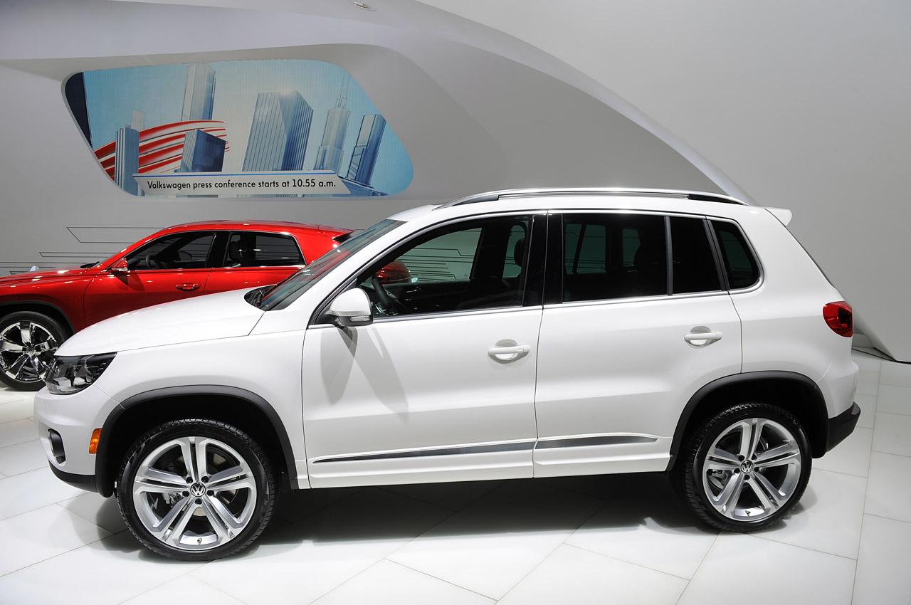 2014 Volkswagen Tiguan R-Line - VW recalls 189,000 SUVs in North America for potential stalling
