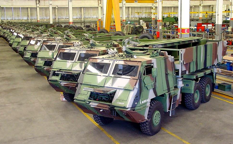 Segurança Nacional Blog SNB: Astros 2020 da Avibras Exército ...