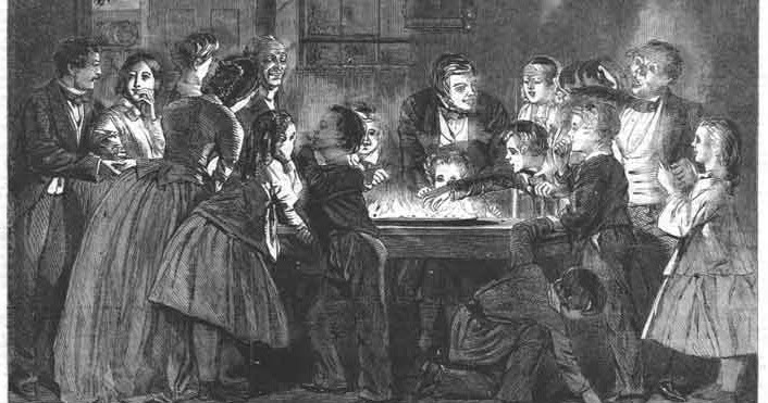 Romancing The Past: Christmas Snap-dragon