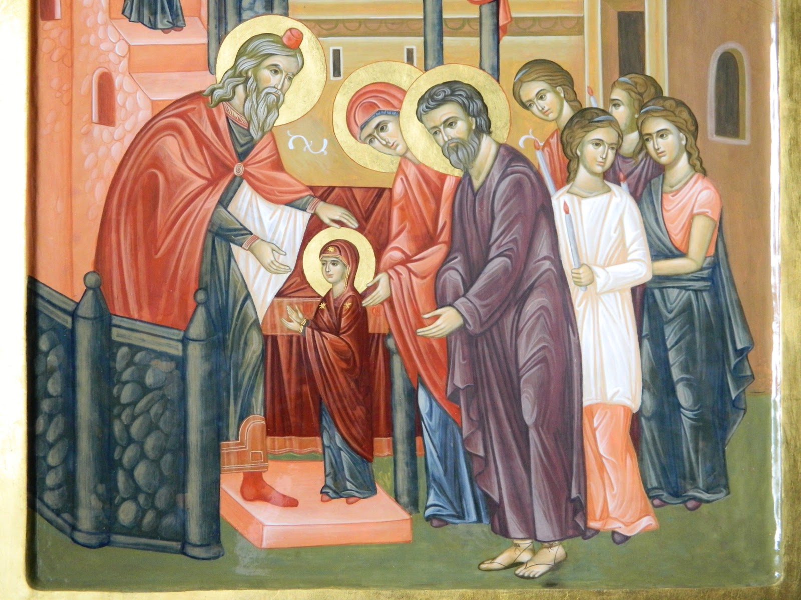 Intrarea in Biserica a Maicii Domnului -21 noiembrie