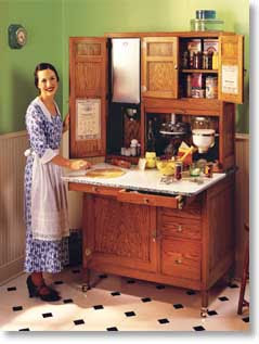 Cactus Rose of the Wild Rose Press: The Hoosier Cabinet