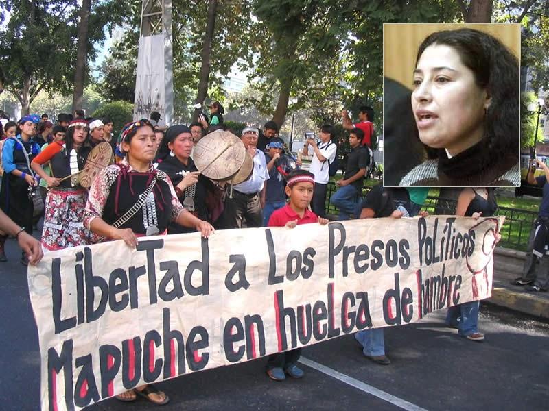 Bandeira Negra: Presos políticos mapuche em greve de fome ...