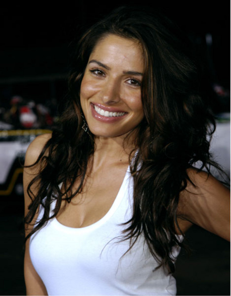 The 38-year old daughter of father (?) and mother(?) Sarah Shahi in 2018 photo. Sarah Shahi earned a  million dollar salary - leaving the net worth at 5 million in 2018