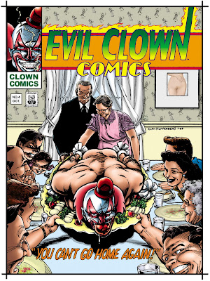 Looking Back With Alan Kupperberg: Evil Clown Comics
