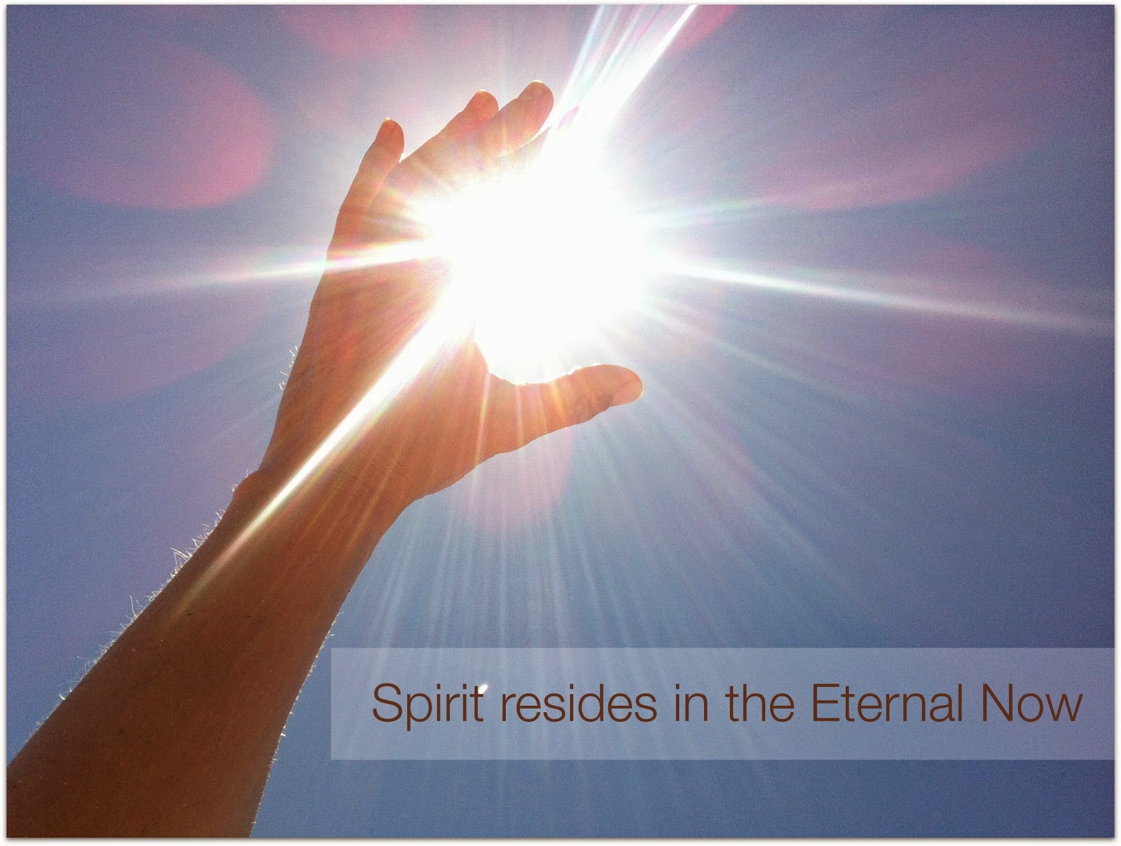 Blog: Fully Present In The Eternal Now :: Center for ...