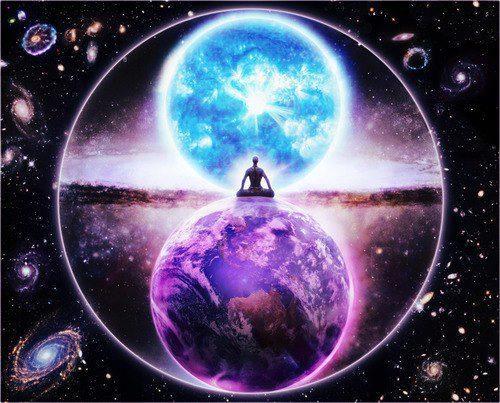 soul universe meditation spirit Spiritual breathing breath purple-hazey •