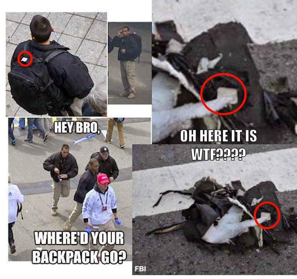 Truthseeker Archive: Pictures of backpacks used in Boston ...