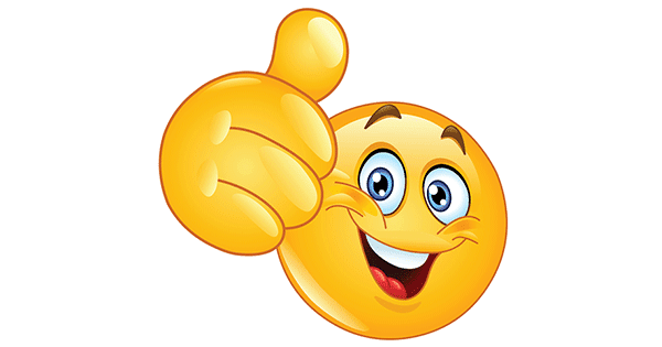 Thumbs Up Emoticon | Symbols & Emoticons