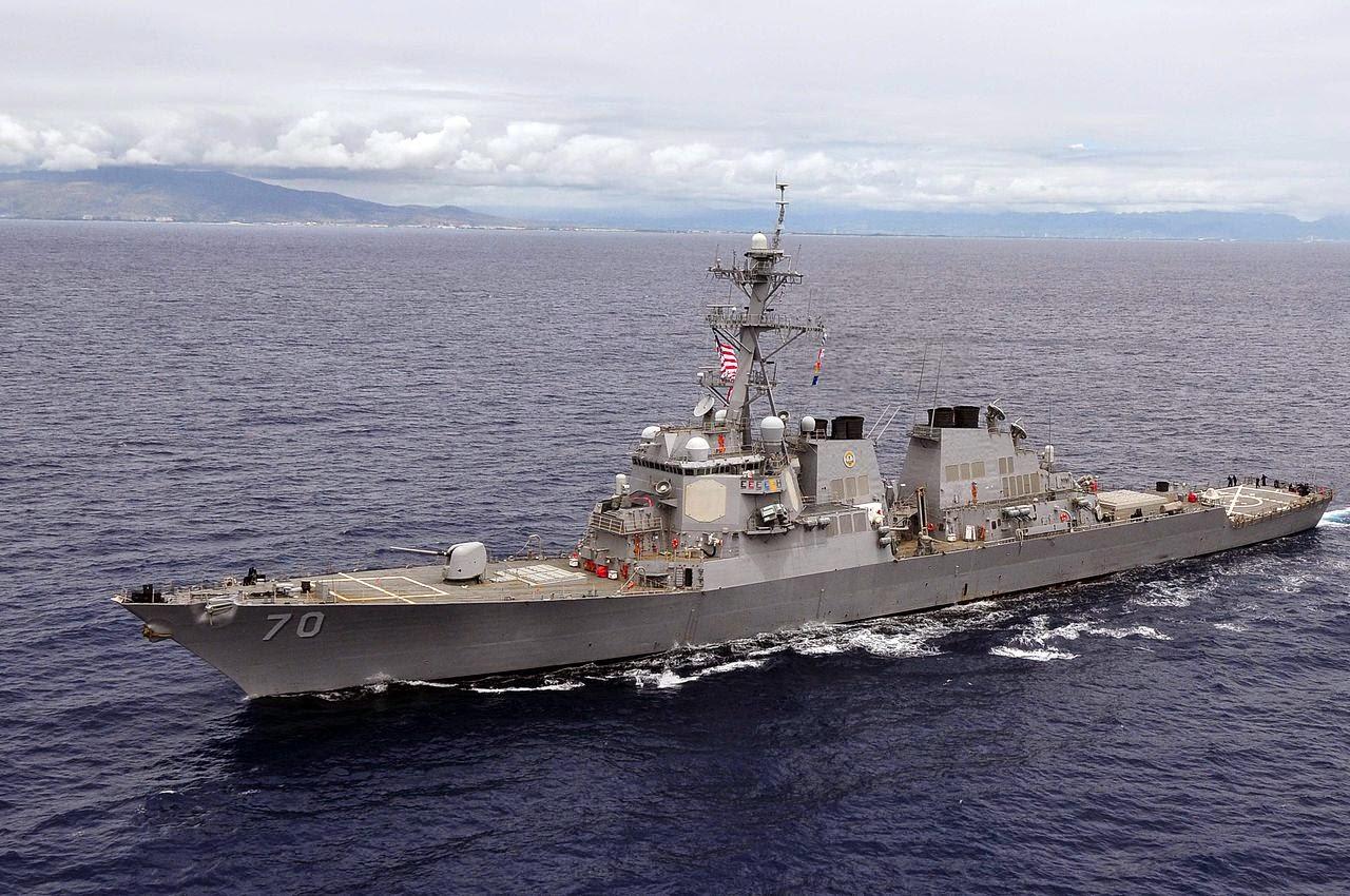 """Sextant Blog: 79.) DDG-75 """"Donald Cook"""" USS destroyer ..."""