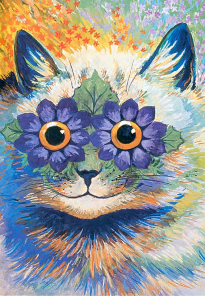 il ventaglio di piume: I gatti di Louis Wain