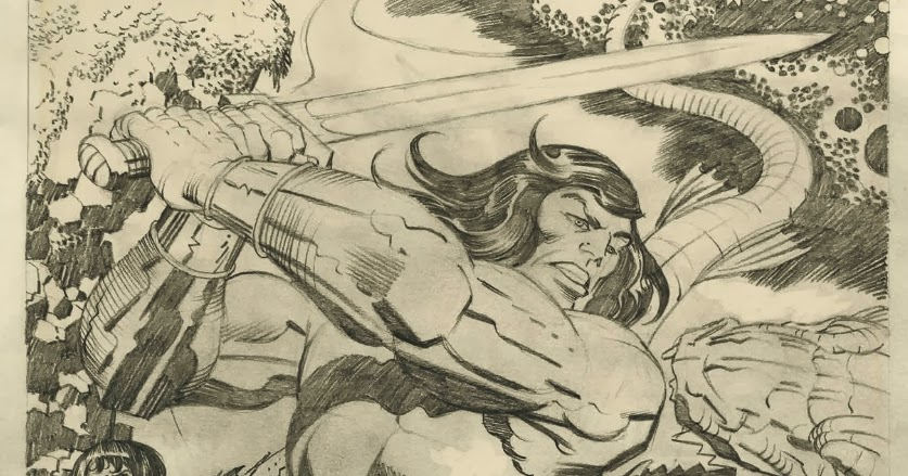 Cap'n's Comics: The Other Conan by Jack Kirby