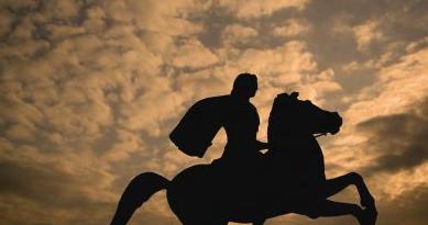 """O Μέγας Αλέξανδρος και οι """"φτερωτοι στρατιώτες"""" του"""