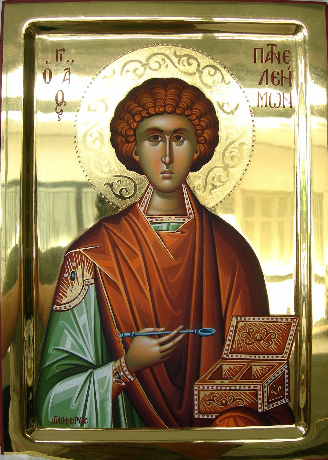 ... tones to St. Panteleimon, by St. Joseph the Hymnographer: Second Tone