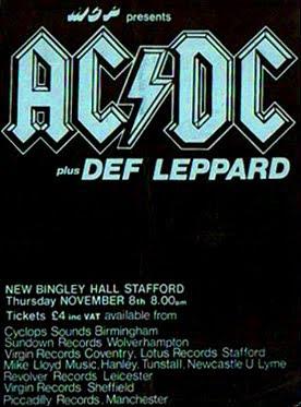"La Mano Kornuda: "" AC/DC & Def Leppard Live"
