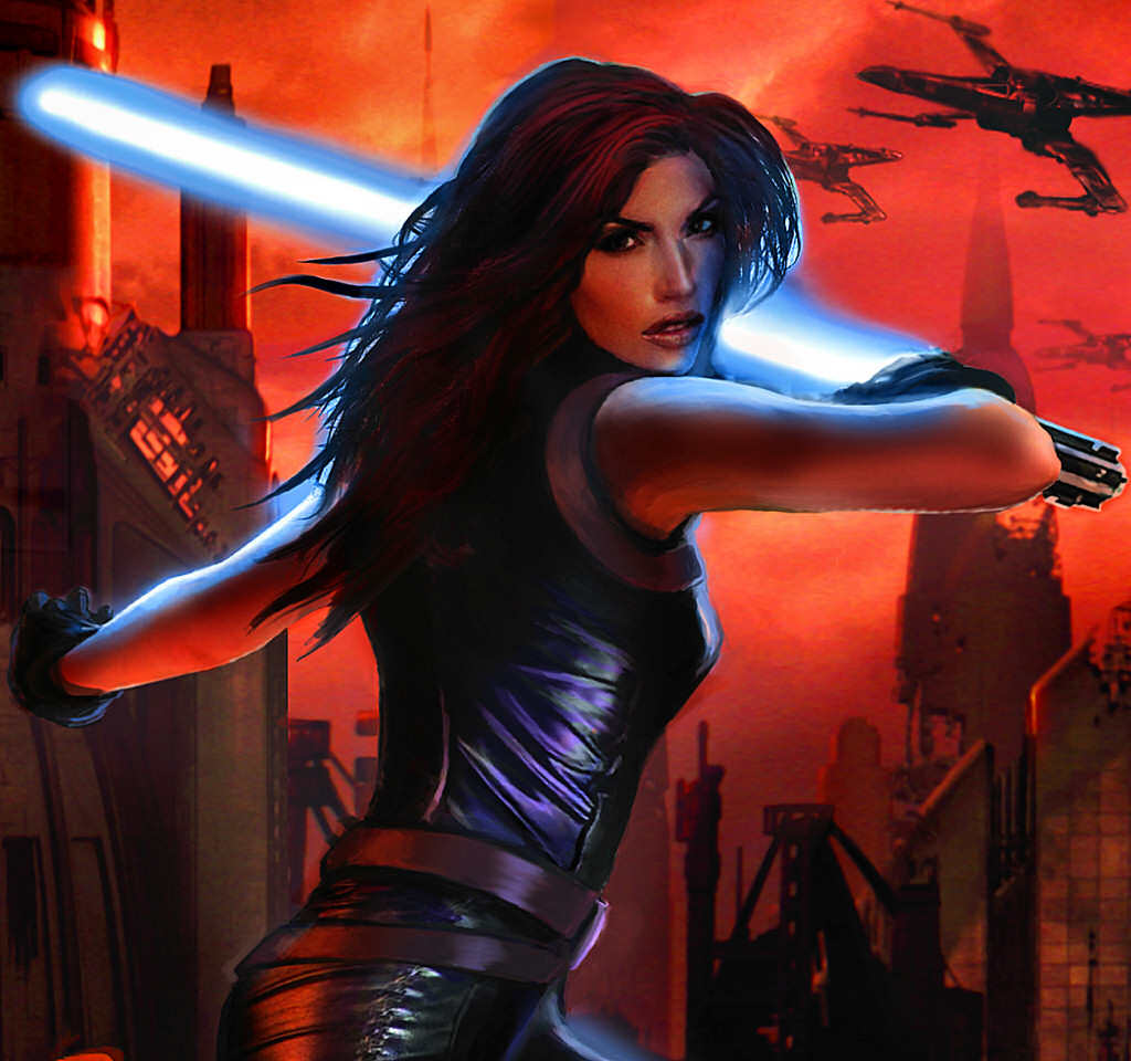 My name is Mara Jade. I'm Hot.