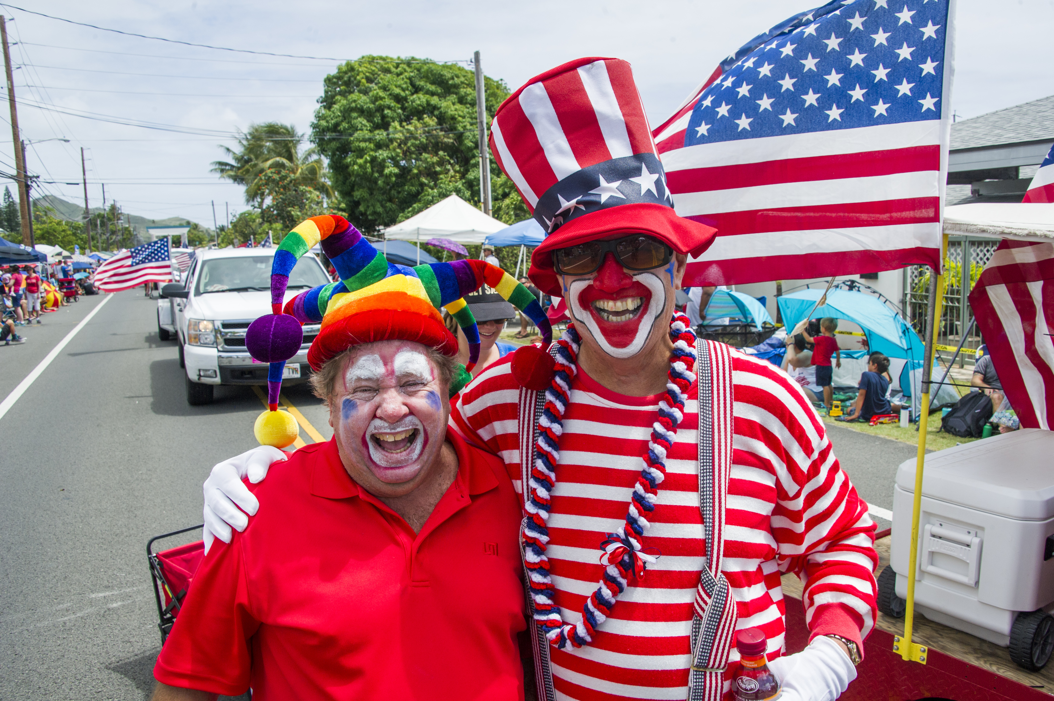 On Monday July 4. 70th Kailua 4th of July Parade Kainalu Drive - From ...