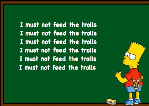 Daisy's Tea Party : Please don't feed the trolls.