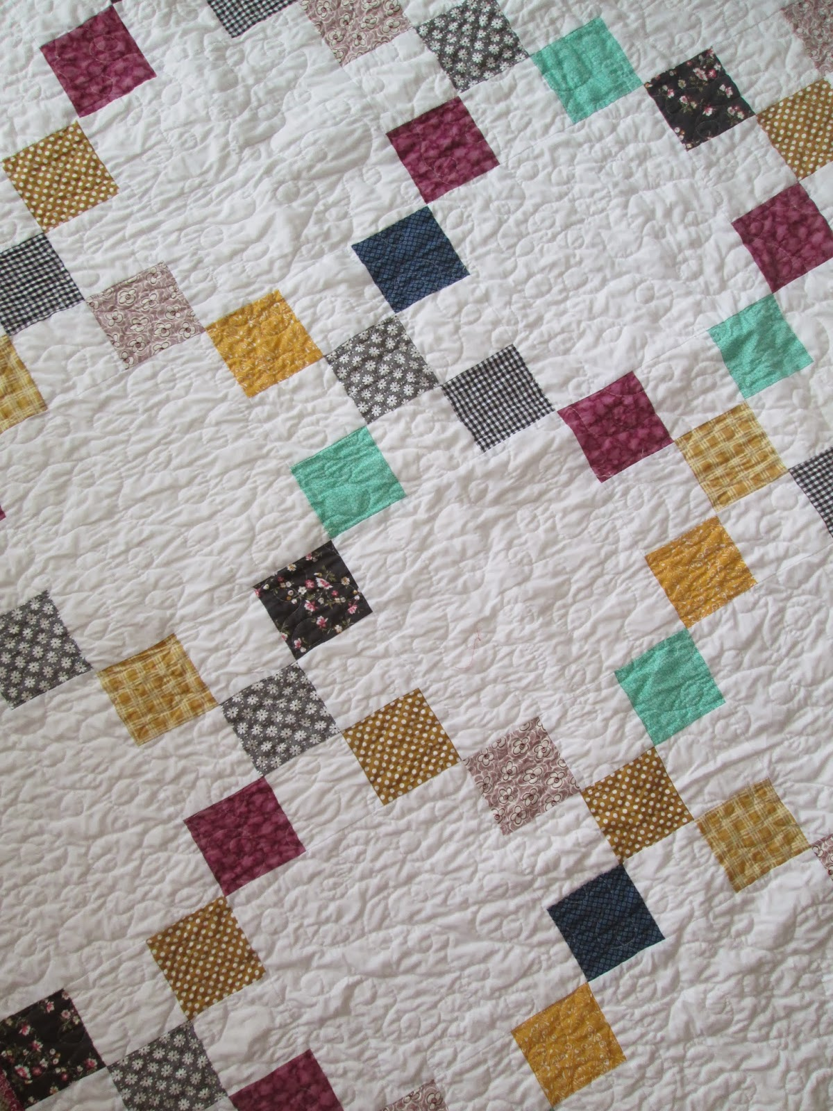 Quackadoodle Quilt: Irish Chain Quilts