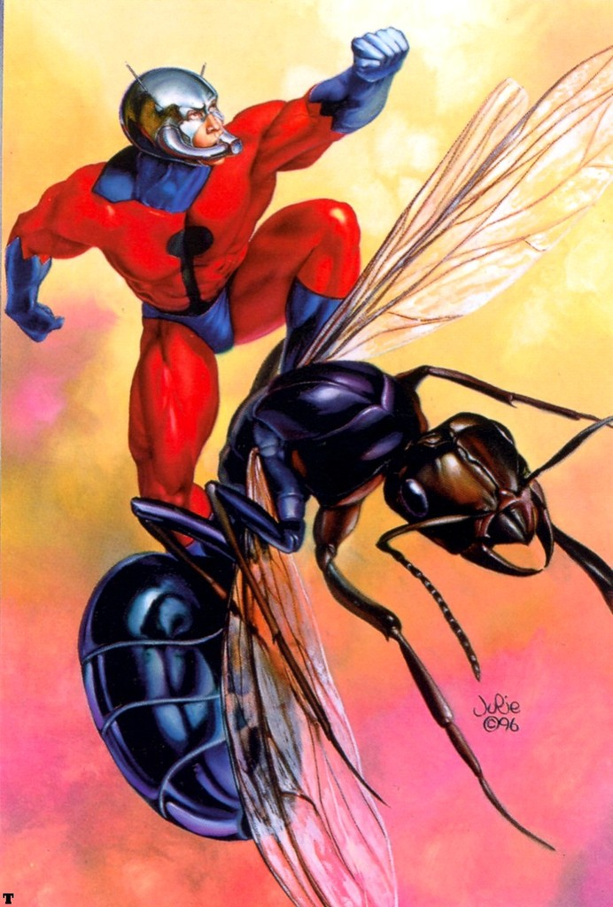 SupaScoot's Action News!!!: Versus # 1 - The Atom vs. Ant-Man