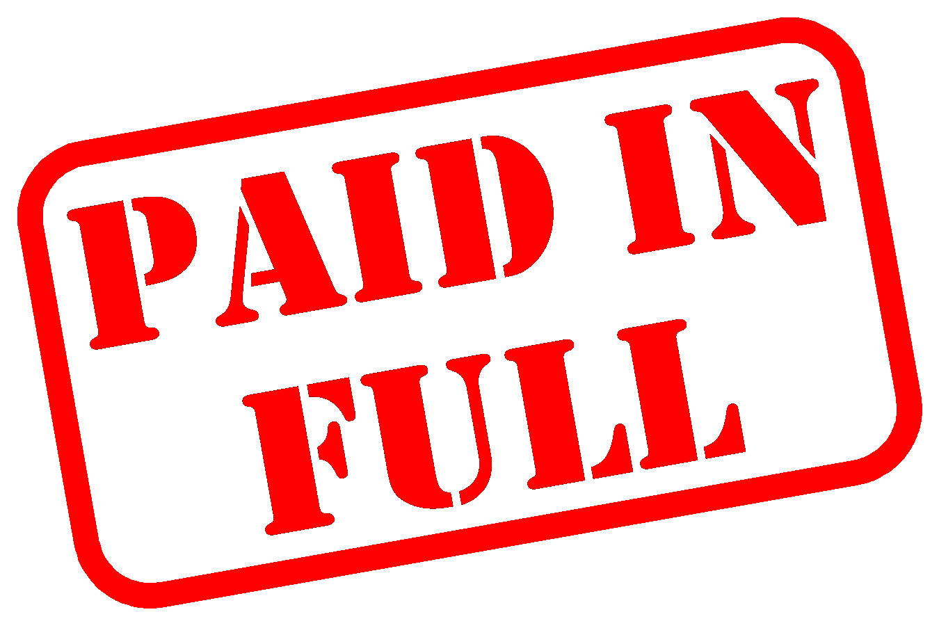 Receivable / Accounts: Paid in Full -- Now What?