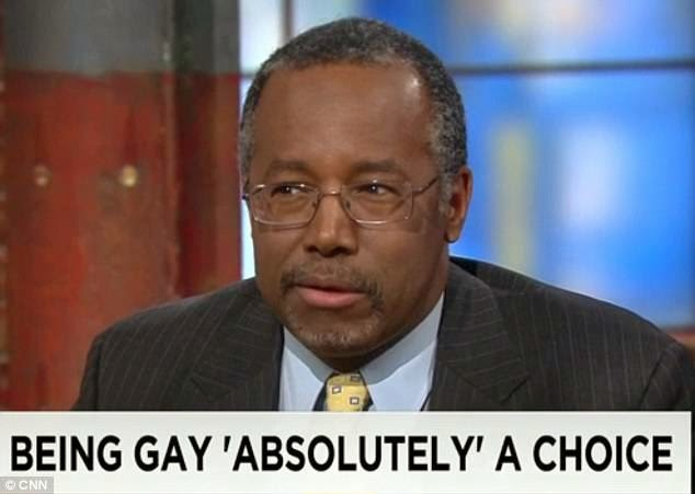 Outspoken Ben Carson Says Prison Straight People, Gay | AT2W