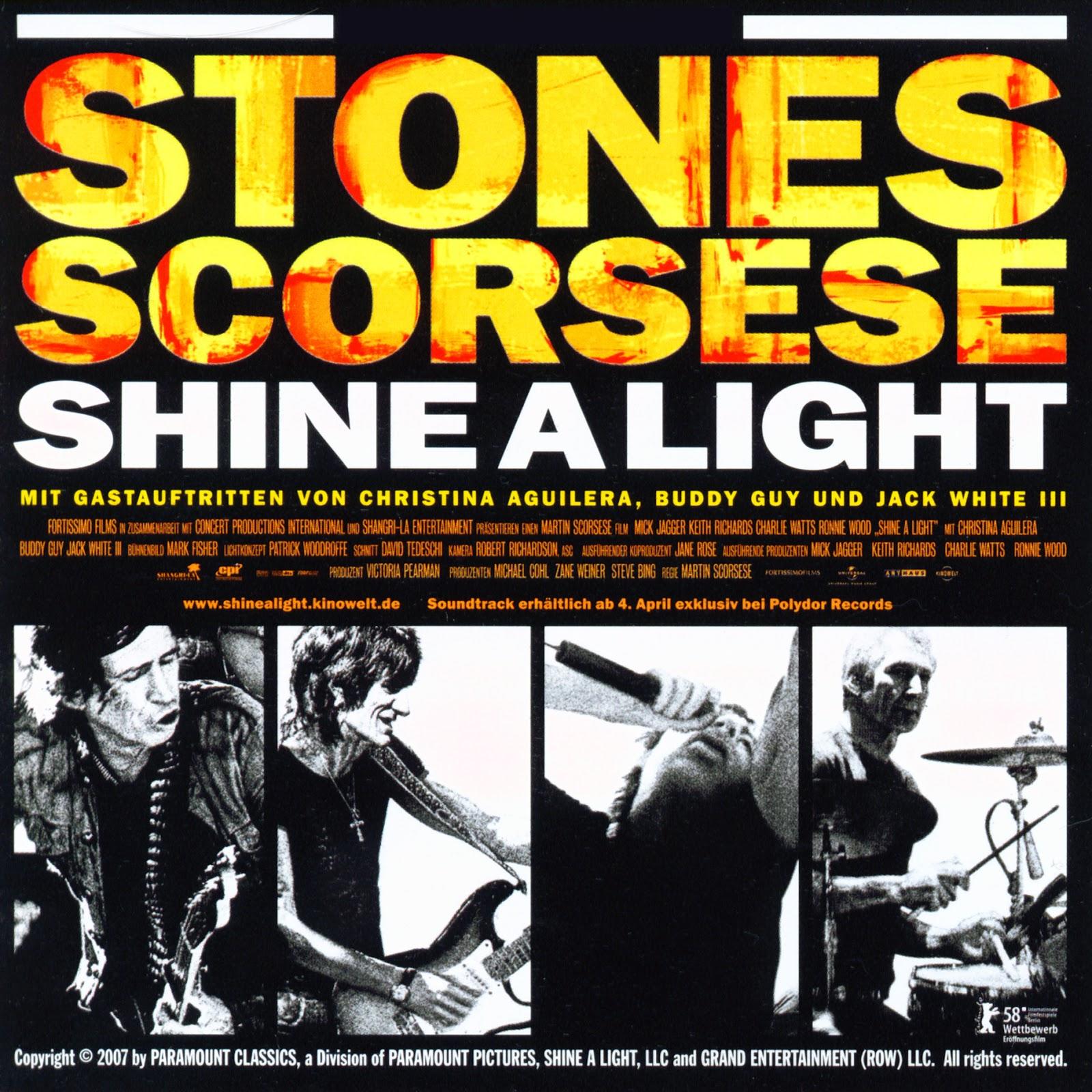 Rolling Stones - Shine a Light (film) 2008 - CALLE NOSTALGIA