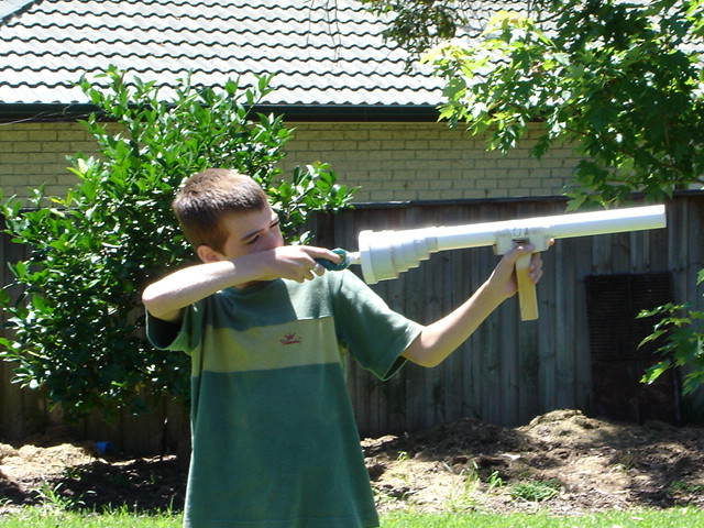 Safety tips for using potato gun ~ Potato-Spud-Cannon-Gun