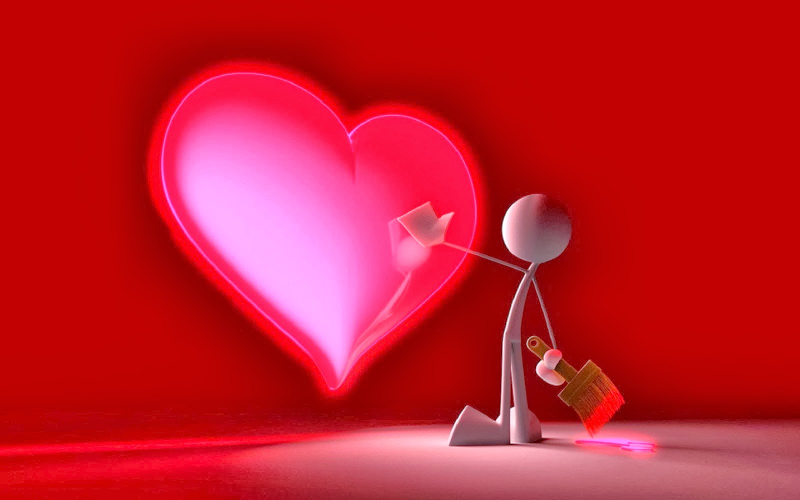 Lovable Images: Heart Love Pictures Free Download || Love Paint ...
