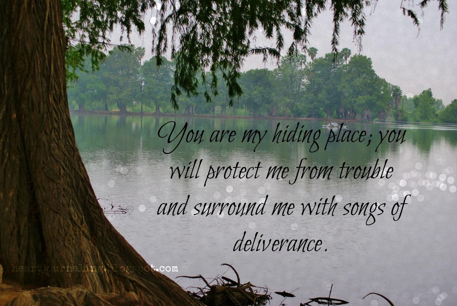 HE{ART}: Scripture Picture: Psalm 32:7