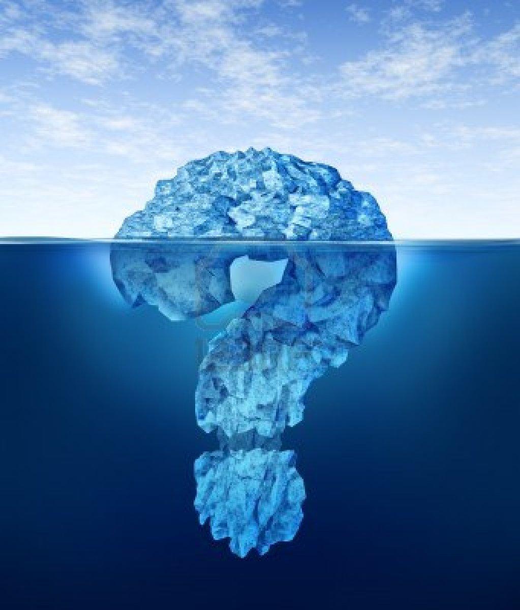 El subconsciente es como el Iceberg, del cual apenas emerge su ...