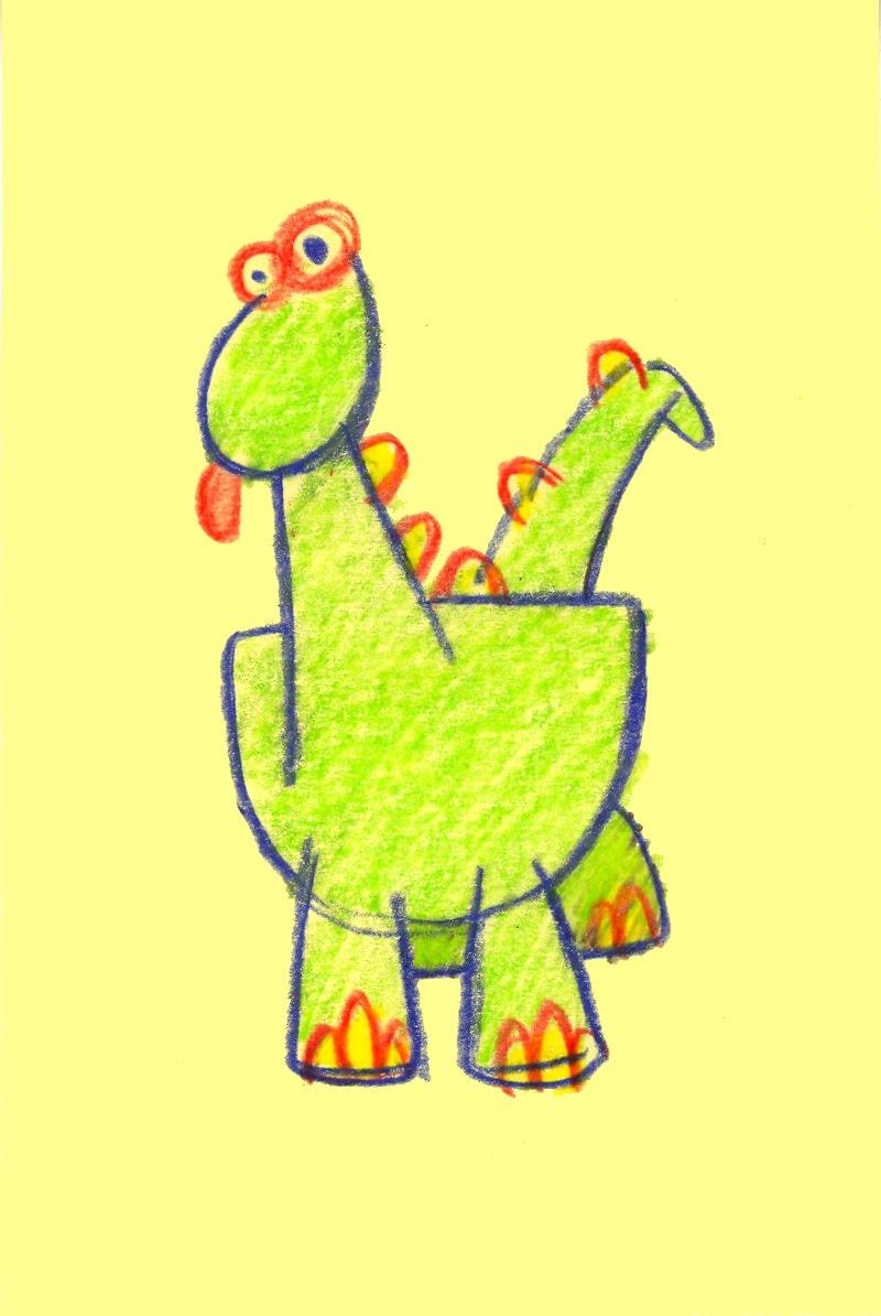 FLYIN HIGH: Crayon Drawings 2